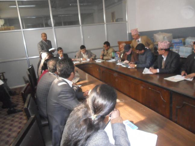 संसदिय शुसाशन तथा अनुगमन समितिले राष्ट्रिय सतर्कता केन्द्रमा अनुगमन